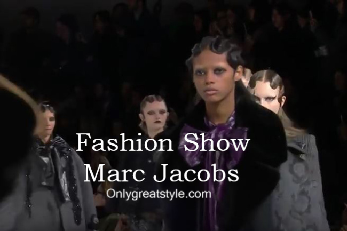 Marc Jacobs fashion show fall winter 2016 2017 for women