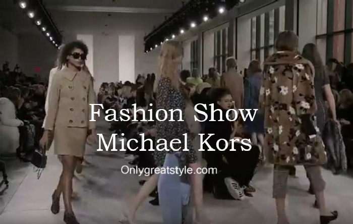 Michael Kors fashion show fall winter 2016 2017 for women