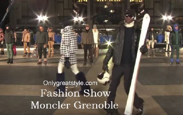 Moncler Grenoble fashion show fall winter 2016 2017