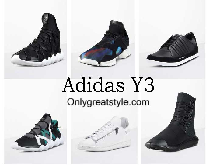 Adidas Y3 Shoes Fall Winter 2016 2017 Footwear For Men