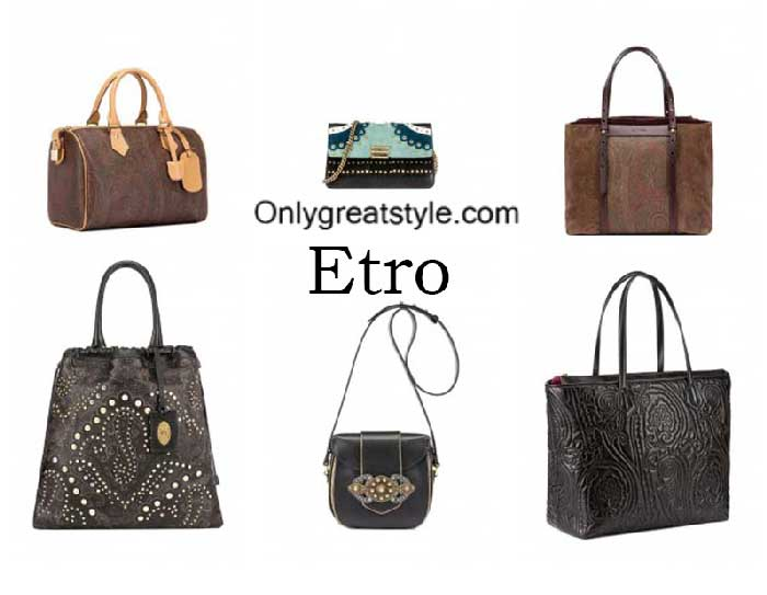 Etro Bags Fall Winter 2016 2017 Handbags For Women