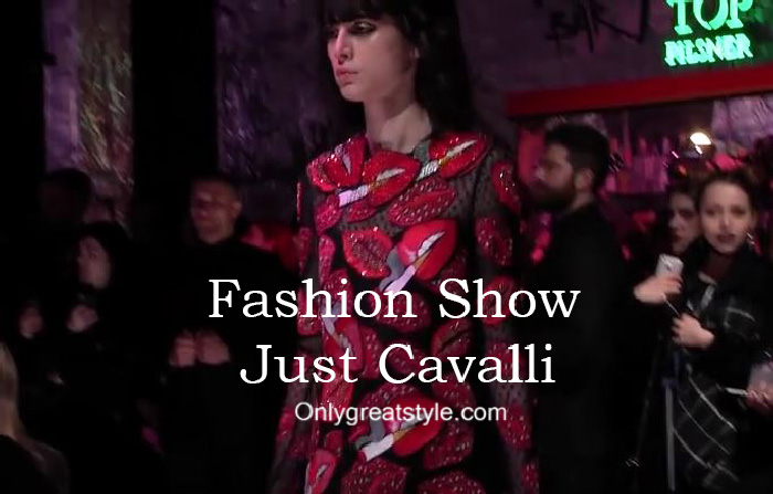 Just Cavalli fashion show fall winter 2016 2017 for women