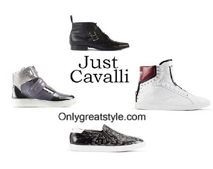 Just Cavalli Shoes Fall Winter 2016 2017 Footwear For Men