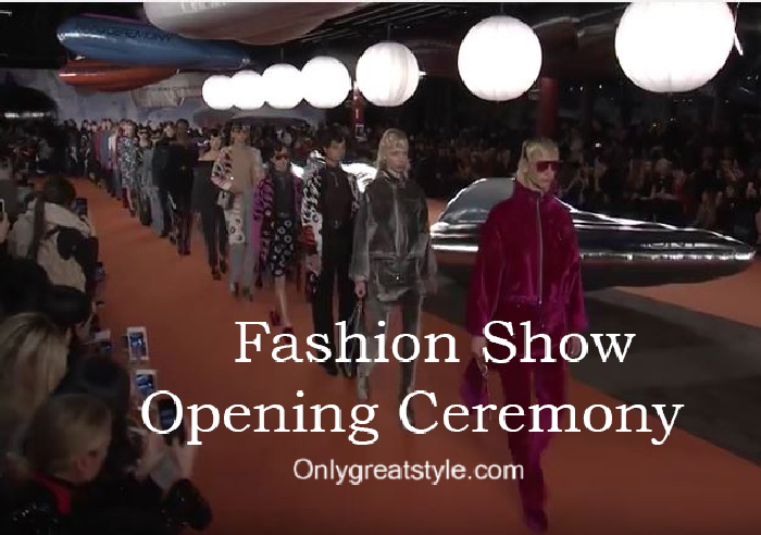Opening Ceremony fashion show fall winter 2016 2017 for women