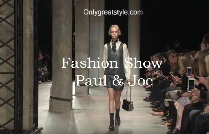 Paul & Joe fashion show fall winter 2016 2017 for women