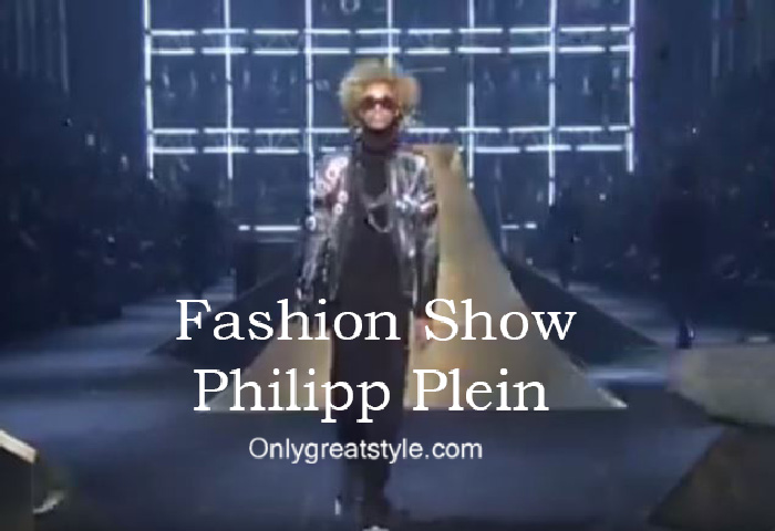 Philipp Plein fashion show fall winter 2016 2017 for men