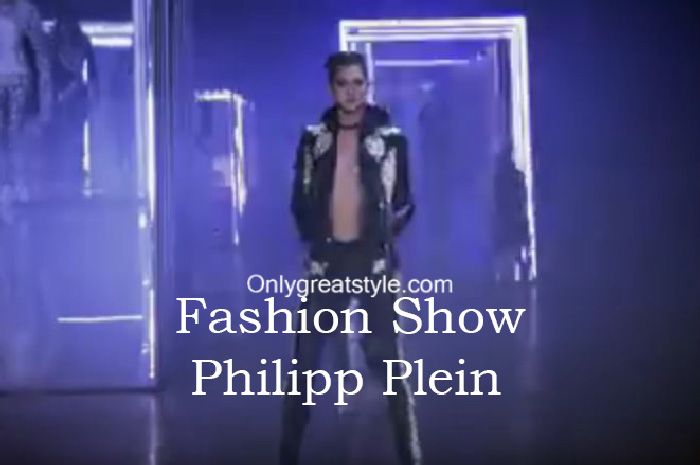 Philipp Plein fashion show fall winter 2016 2017 for women