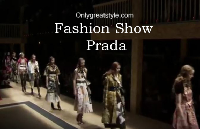 Prada fashion show fall winter 2016 2017 for women