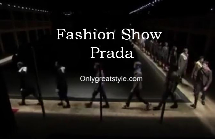 Prada fashion show fall winter 2016 2017