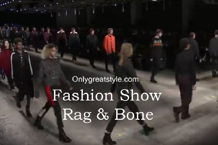 Rag & Bone fashion show fall winter 2016 2017