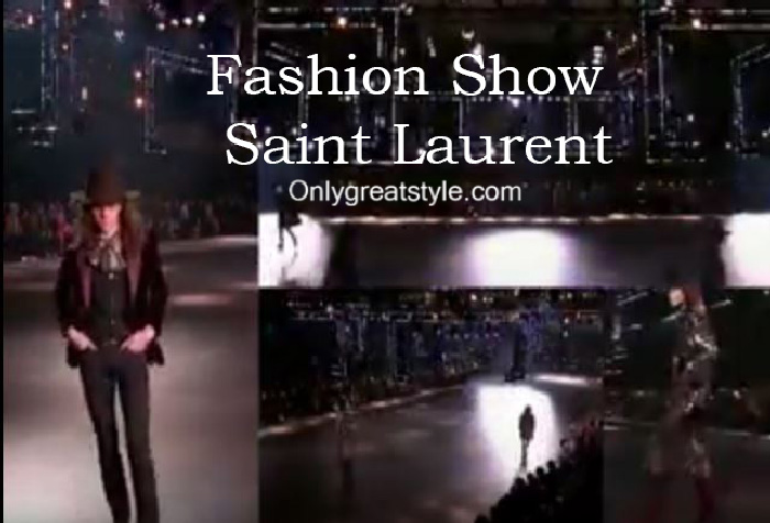 Saint Laurent fashion show fall winter 2016 2017 for men