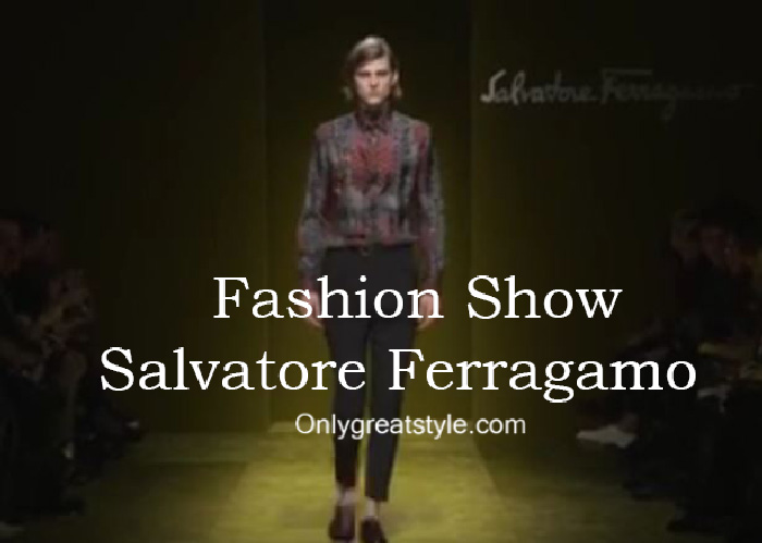 Salvatore Ferragamo fashion show fall winter 2016 2017 for men