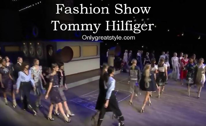 Tommy Hilfiger fashion show fall winter 2016 2017 for women