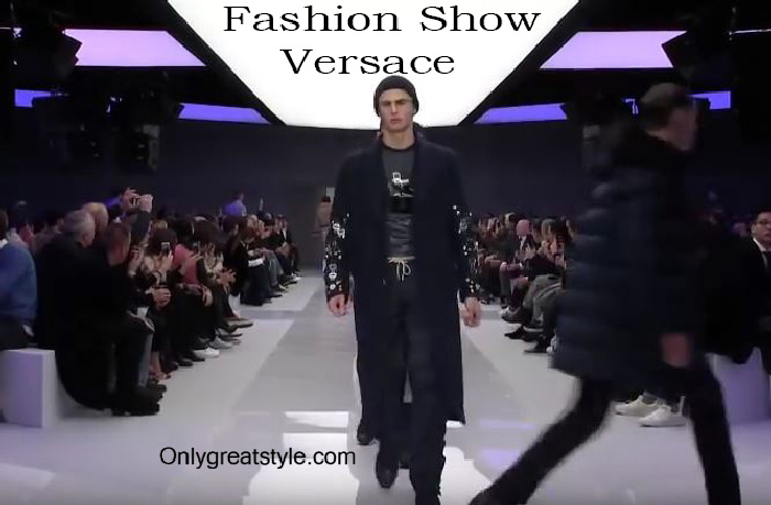 Versace fashion show fall winter 2016 2017 for men