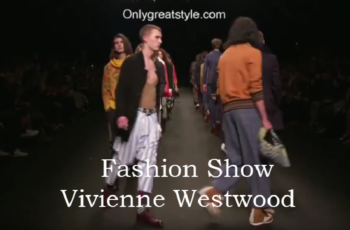 Vivienne Westwood fashion show fall winter 2016 2017 for men