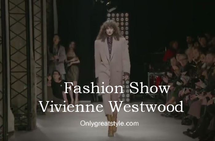 Vivienne Westwood fashion show fall winter 2016 2017 for women