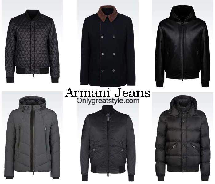 Armani Jeans Jackets Fall Winter 2016 2017 For Men