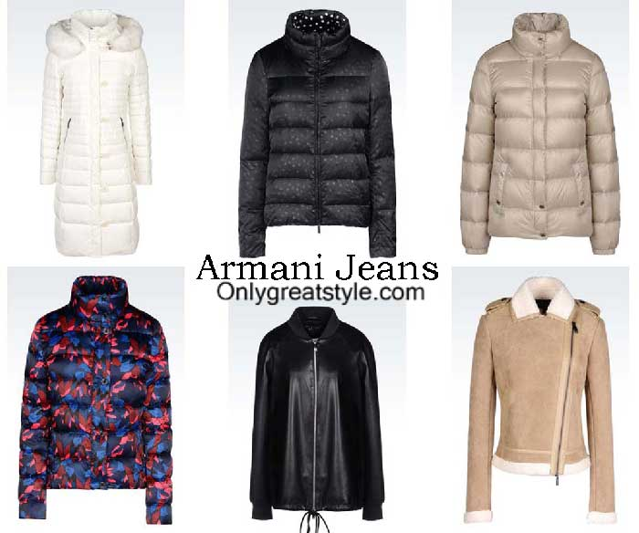 Armani Jeans Jackets Fall Winter 2016 2017 For Women