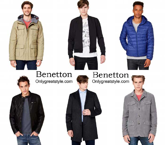 Benetton Jackets Fall Winter 2016 2017 For Men