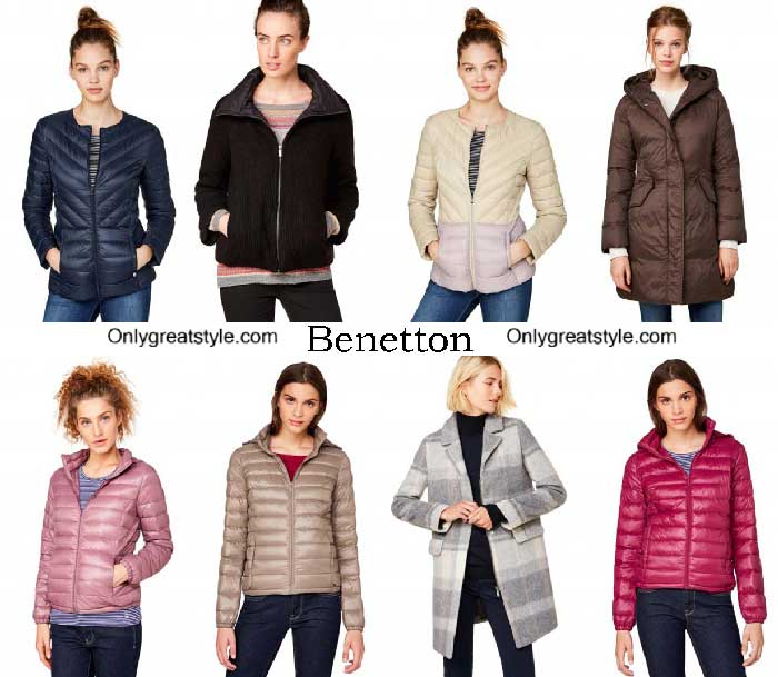 Benetton Jackets Fall Winter 2016 2017 For Women