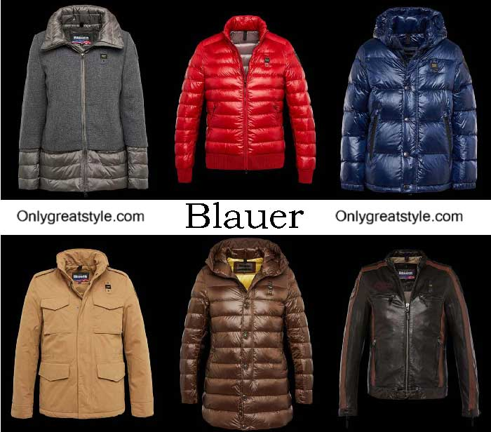 Blauer Down Jackets Fall Winter 2016 2017 For Men
