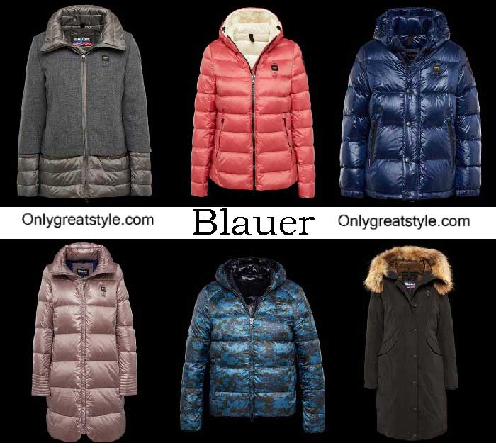 Blauer Down Jackets Fall Winter 2016 2017 For Women