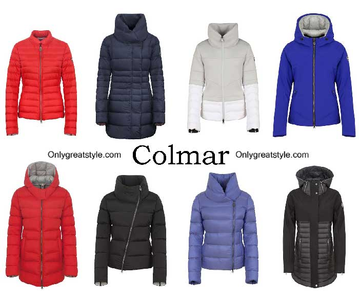 Colmar Down Jackets Fall Winter 2016 2017 For Women