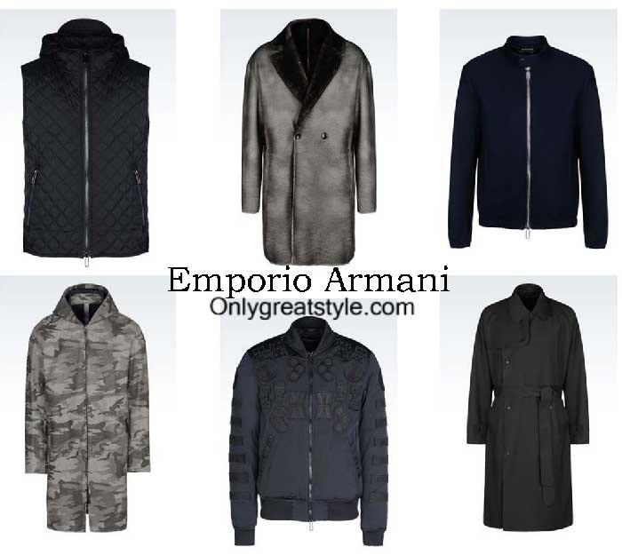 Emporio Armani Jackets Fall Winter 2016 2017 For Men