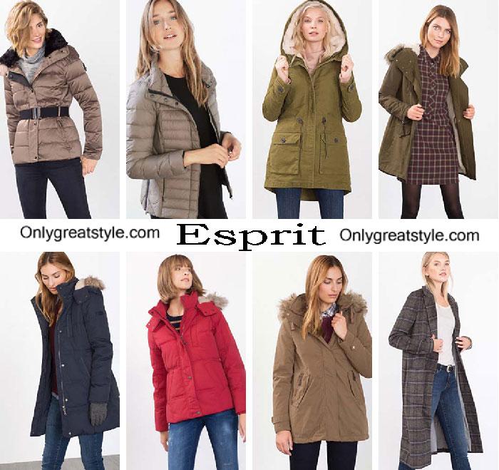 Esprit Down Jackets Fall Winter 2016 2017 For Women