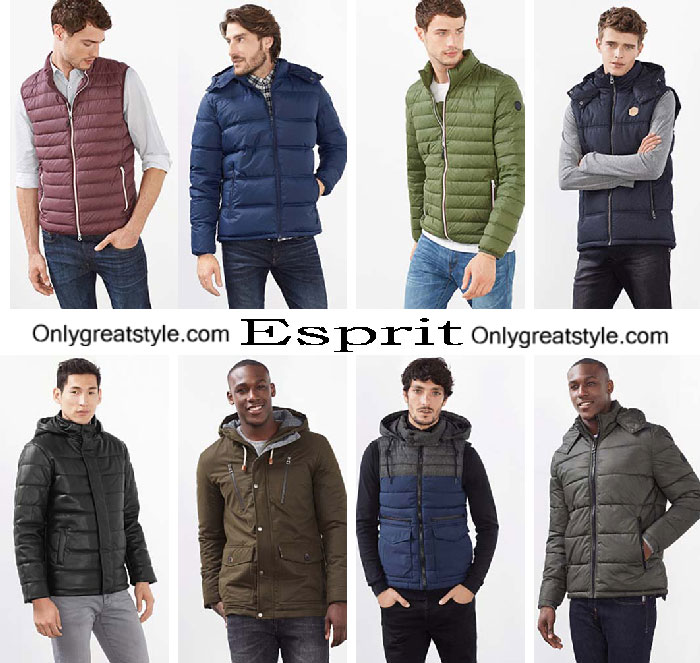 Esprit Jackets Fall Winter 2016 2017 For Men