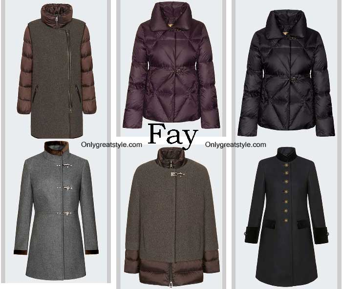 Fay Down Jackets Fall Winter 2016 2017 For Women