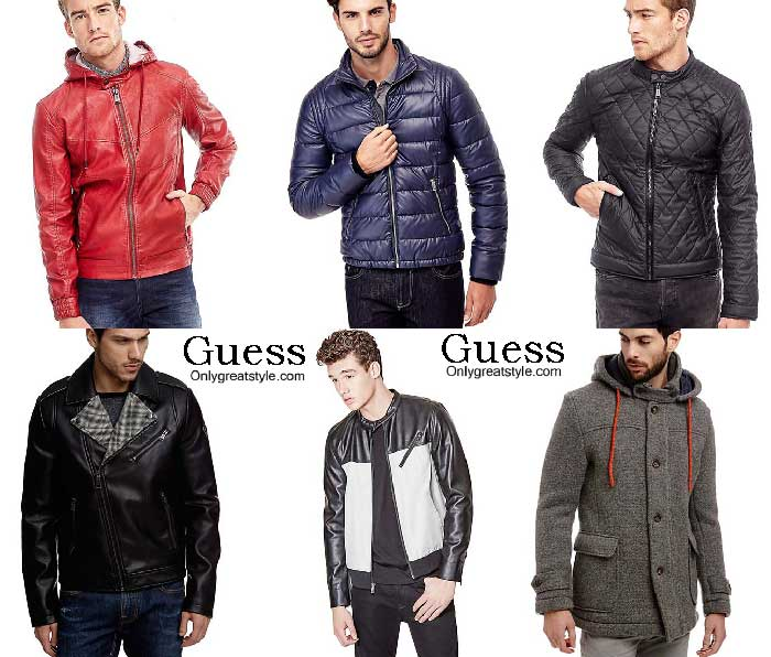 Guess Jackets Fall Winter 2016 2017 For Men