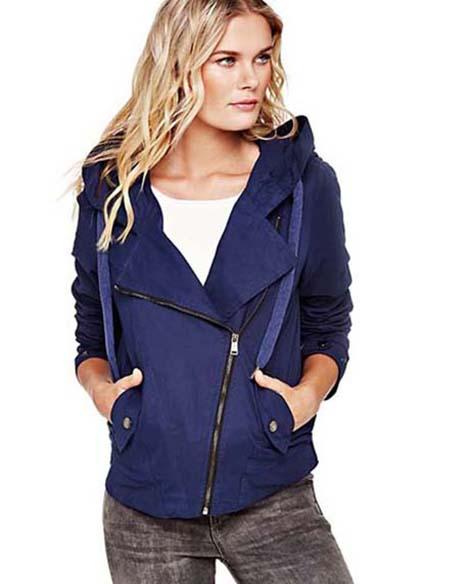 Guess Jackets Fall Winter 2016 2017 For Women Look 17