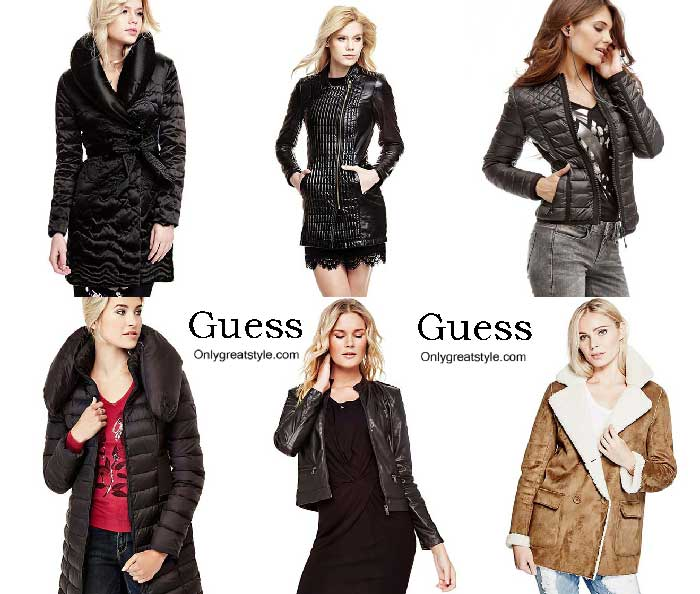 Guess Jackets Fall Winter 2016 2017 For Women