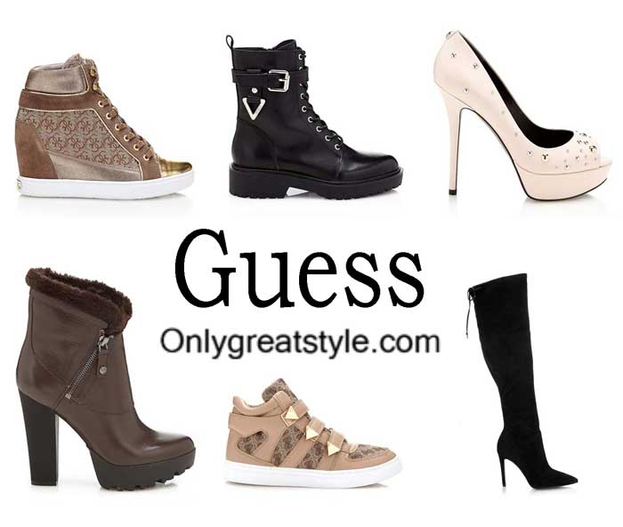 Guess Shoes Fall Winter 2016 2017 For Women
