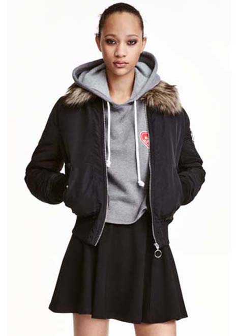 HM Jackets Fall Winter 2016 2017 For Women Look 1
