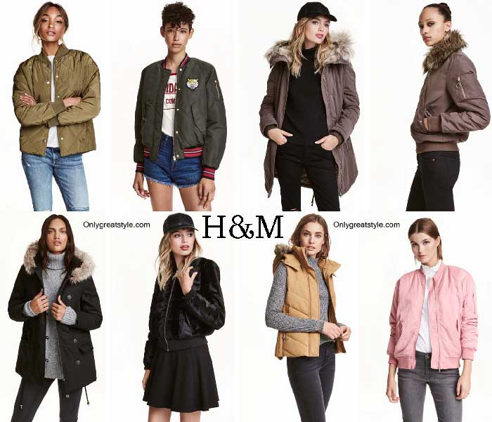 HM Jackets Fall Winter 2016 2017 For Women
