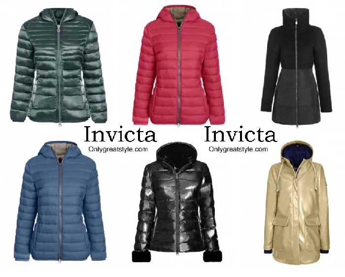 Invicta Down Jackets Fall Winter 2016 2017 For Women