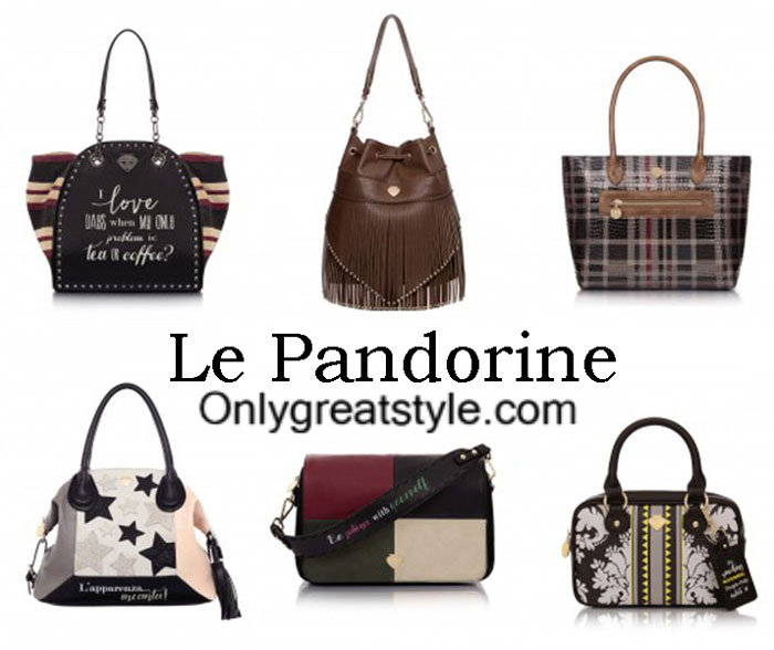 Le Pandorine Bags Fall Winter 2016 2017 For Women