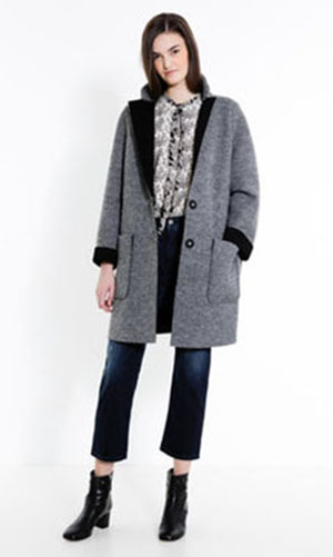 MaxCo Coats Fall Winter 2016 2017 For Women Look 42