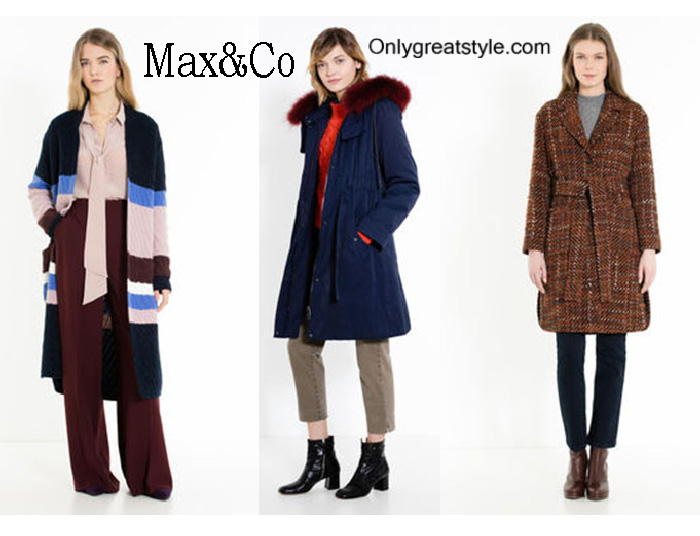 MaxCo Coats Fall Winter 2016 2017 For Women