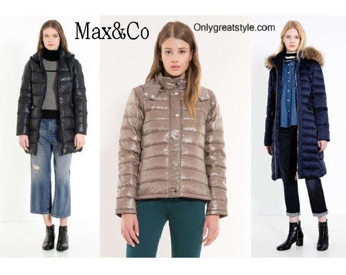 MaxCo Down Jackets Fall Winter 2016 2017 For Women