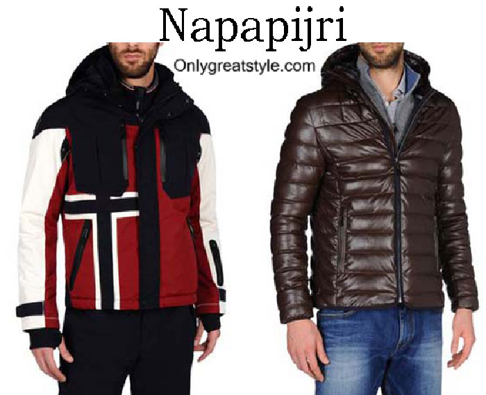 Napapijri Down Jackets Fall Winter 2016 2017 For Men