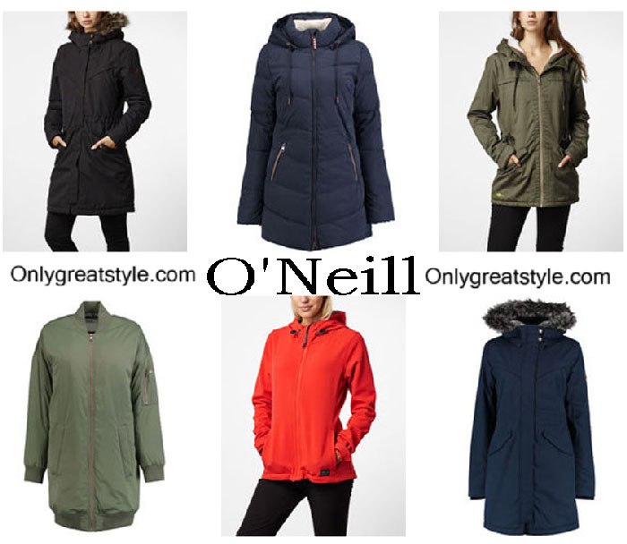 O'Neill Jackets Fall Winter 2016 2017 For Women