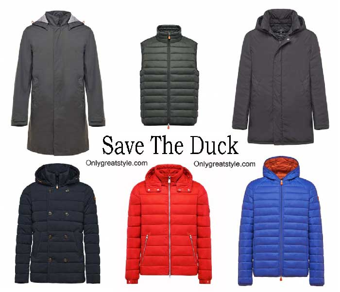 Save The Duck Down Jackets Winter 2016 2017 For Men