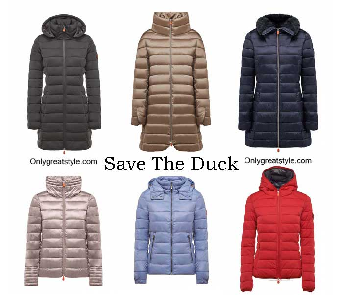 Save The Duck Down Jackets Winter 2016 2017 For Women