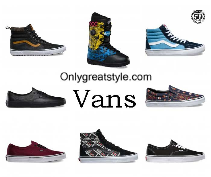 Vans Sneakers Fall Winter 2016 2017 Shoes For Men