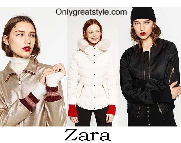 Zara Down Jackets Fall Winter 2016 2017 For Women