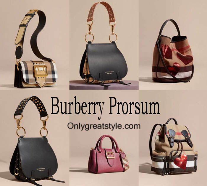 Burberry Prorsum Bags Fall Winter 2016 2017 For Women