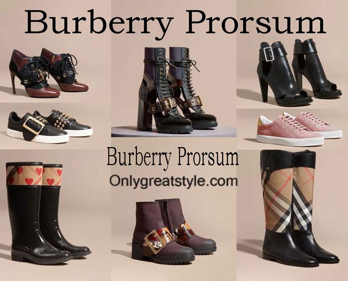Burberry Prorsum Shoes Fall Winter 2016 2017 For Women